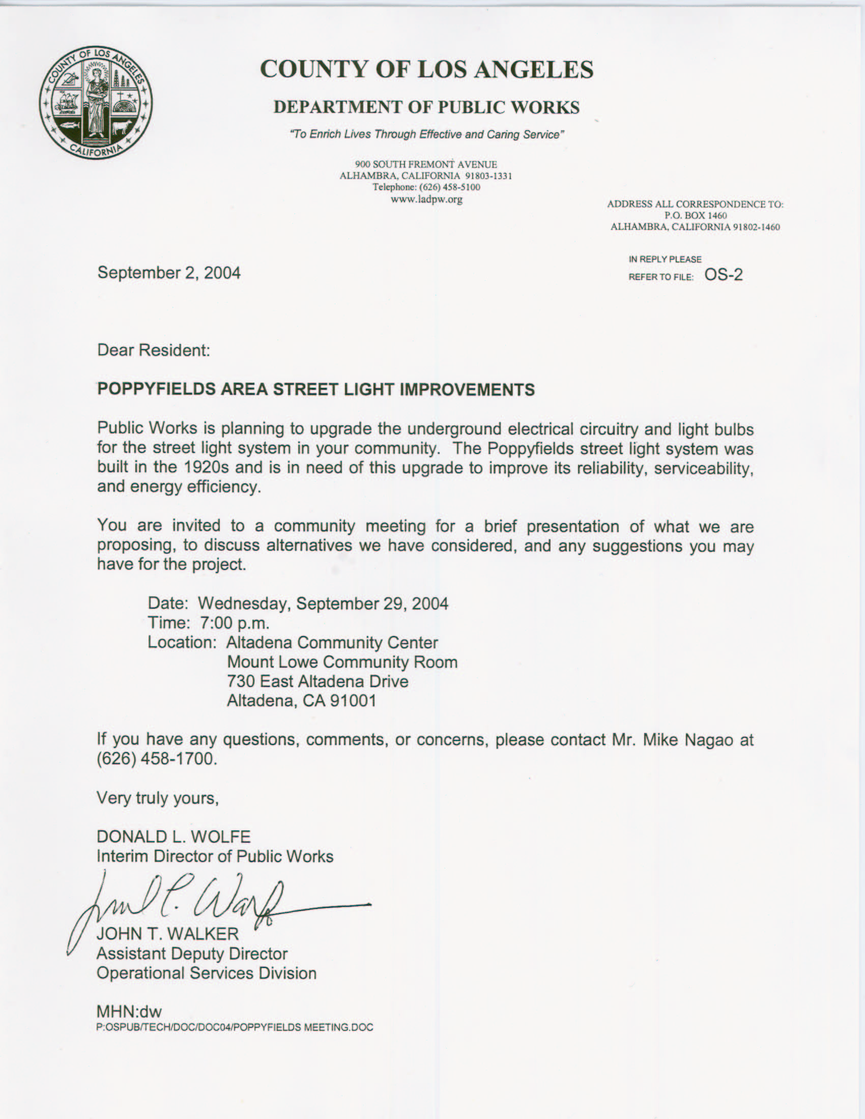 Sample invitation letter to parents to visit school smart letters invitation to 1st community meeting stopboris Choice Image